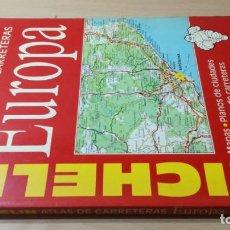 Libros de segunda mano: ATLAS CARRETERAS EUROPA MICHELIN 1992 ESQ406. Lote 210963911