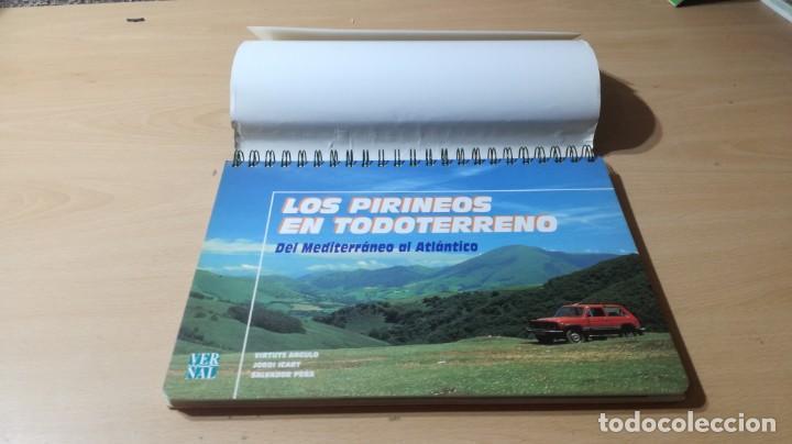 Libros de segunda mano: LOS PIRINEOS EN TODO TERRENO - DEL MEDITERANEO AL ATLANTICO - VERSAL W305 - Foto 3 - 210969315