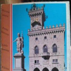 Libros de segunda mano: REPUBBLICA DI SAN MARINO. ANTICA TERRA DELLA LIBERTÀ. Lote 211477394