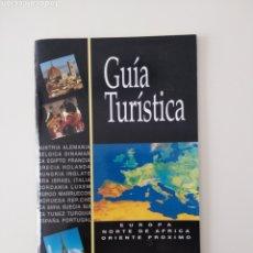 Libros de segunda mano: FOLLETO-GUIA TURÍSTICA EUROPA, NORTE ÁFRICA Y ORIENTE PRÓXIMO. PANAVISION. Lote 211484875