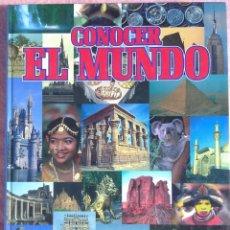 Libros de segunda mano: CONOCER EL MUNDO, GUÍA PRÁCTICA; FOLKLORE, COSTUMBRES, GASTRONOMÍA… (AGLO, 1998) /// VIAJERO TURISTA. Lote 211485830