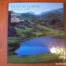 Libros de segunda mano: PICOS DE EUROPA PARQUE NACIONAL LUNWERG. Lote 211509016
