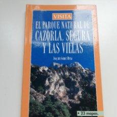 Libros de segunda mano: EL PARQUE NATURAL DE CAZORLA, SEGURA Y LAS VILLAS (JOAQUÍN GÓMEZ MENA). Lote 211891211