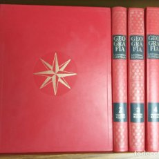 Libros de segunda mano: GEOGRAFÍA UNIVERSAL ILUSTRADA. EDIT. NOGUER. 4 TOMOS.1971 LOTE VALORADO EN 25€.. Lote 212410627