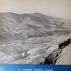 Libros de segunda mano: SIERRAS Y VALLES DEL SISTEMA IBÉRICO AL NW DEL JALÓN, MC CHUECA, 1976. Lote 213931922