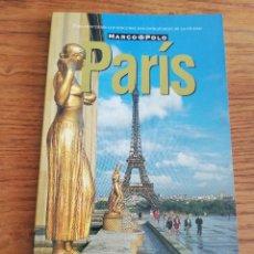 Libros de segunda mano: PARÍS (GUÍA MARCO POLO). Lote 214081252