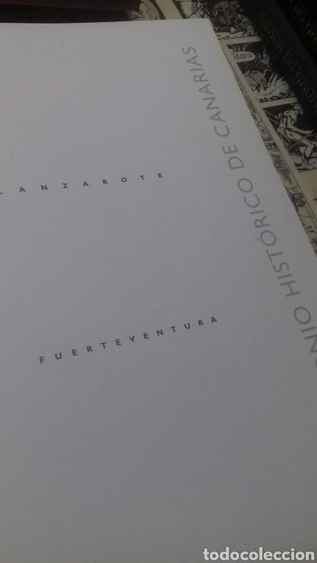 Libros de segunda mano: Patrimonio historico de Canarias. Fuerteventura y Lanzarote. - Foto 9 - 214917877