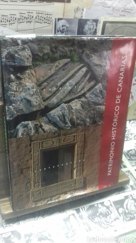 PATRIMONIO HISTORICO DE CANARIAS. FUERTEVENTURA Y LANZAROTE. (Libros de Segunda Mano - Geografía y Viajes)