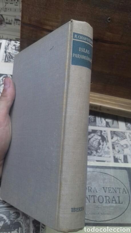 Libros de segunda mano: Islas paradisiacas. Ceilan java y tahiti. Chauvelot - Foto 2 - 215178171