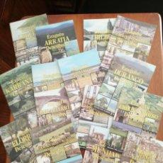 Livres d'occasion: COLECCIÓN DE 16 LIBRITOS DE LA COLECCIÓN EZAGUTU PUEBLOS DE BIZKAIA. Lote 215429116