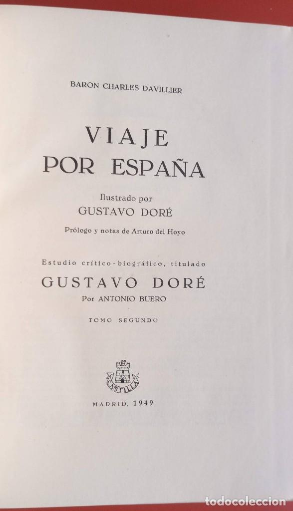 Libros de segunda mano: VIAJE POR ESPAÑA - 3 TOMOS - COMPLETA - DAVILLIER - DORE - ILUSTRADO - LIMITADA - COLECCIONISMO - Foto 22 - 215481445