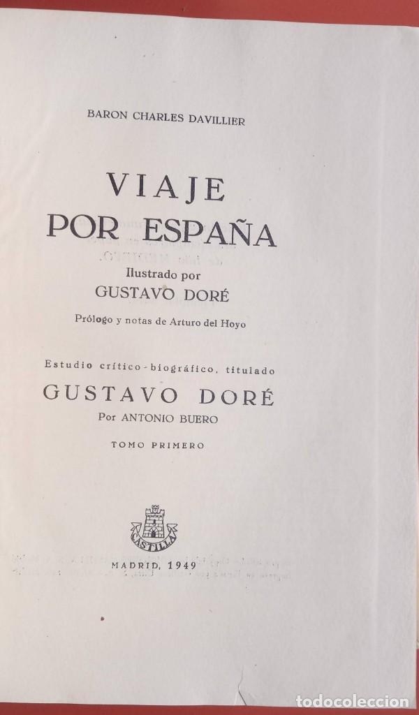 Libros de segunda mano: VIAJE POR ESPAÑA - 3 TOMOS - COMPLETA - DAVILLIER - DORE - ILUSTRADO - LIMITADA - COLECCIONISMO - Foto 27 - 215481445