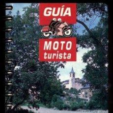 Libros de segunda mano: GUIA MOTO TURISTA. ESPAÑA. 8.000 KILOMETROS DE RUTAS ALTERNATIVAS PARA MOTOTURISTAS. MOTOCICLETA.. Lote 215959471
