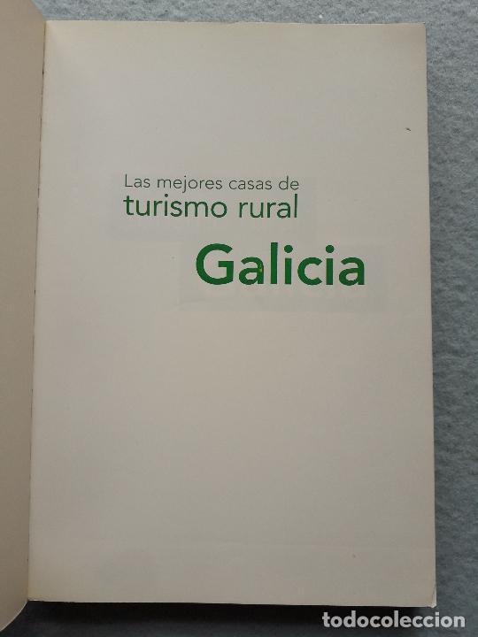 Libros de segunda mano: Las mejores casas de turismo rural Galicia. - Foto 2 - 216355631