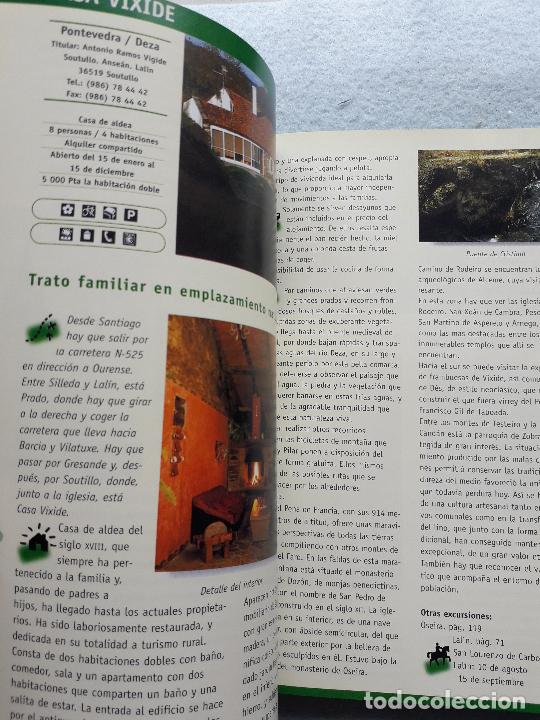 Libros de segunda mano: Las mejores casas de turismo rural Galicia. - Foto 5 - 216355631