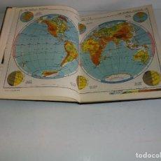 Libros de segunda mano: ANTIGUO ATLAS MUNDIAL AÑOS 50´S VINTAGE RARO. Lote 216710578