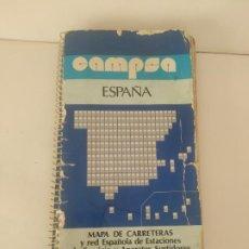 Libros de segunda mano: GUÍA CAMPSA 1979. ESPAÑA. MAPAS CARRETERAS MAPA. USADA.. Lote 217609797