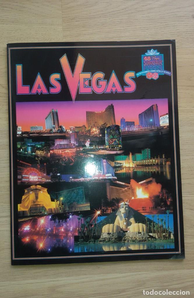 LIBRO SOUVENIR DE LAS VEGAS 1994 (Libros de Segunda Mano - Geografía y Viajes)