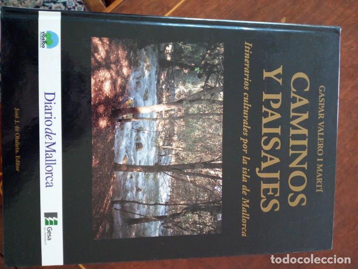 CAMINOS Y PAISAJES 2 TOMOS ITINERARIOS CULTURALES POR LA ISLA DE MALLORCA GASPAR VALERO I MARTÍ (Libros de Segunda Mano - Geografía y Viajes)