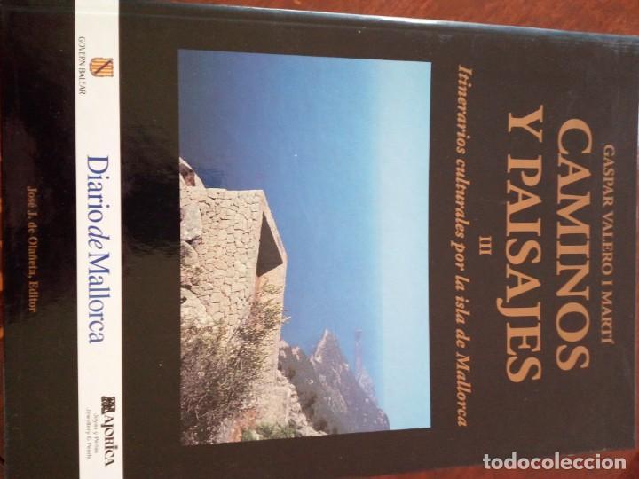 Libros de segunda mano: CAMINOS Y PAISAJES 2 TOMOS itinerarios culturales por la isla de mallorca Gaspar Valero i Martí - Foto 4 - 218137083