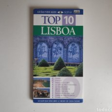 Libros de segunda mano: LIBRO. GUIA DE VIAJE TOP 10 LISBOA. Lote 218170362