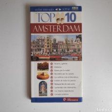 Libros de segunda mano: LIBRO. GUIA DE VIAJE TOP 10 AMSTERDAM. Lote 218170440