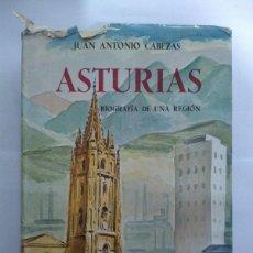 Libros de segunda mano: ASTURIAS - JUAN ANTONIO CABEZAS. Lote 218170878