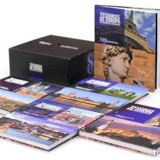 Libros de segunda mano: TESOROS DE EUROPA PATRIMONIO DE LA HUMANIDAD. SIGNO EDITORES. PRECINTADA CAJA ORIGINAL. Lote 218172515