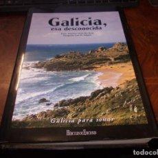 Libros de segunda mano: GALICIA ESA DESCONOCIDA, HÉRCULES DE EDICIONES 2.006. TEXTO FRANCISCO JAVIER RÍO BARJA. FOTOGRAFÍA:. Lote 218177992