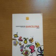 Libros de segunda mano: GUIA ESSENCIAL PER VIURE A BARCELONA. 2000. EN BOS ESTAT. Lote 218223703