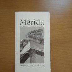 Libros de segunda mano: MERIDA. PATRIMONIO DE LA HUMANIDAD. Lote 218225635
