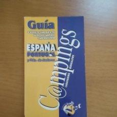 Libros de segunda mano: GUÍA DE CAMPINGS DE ESPAÑA Y PORTUGAL. 2000. Lote 218226432