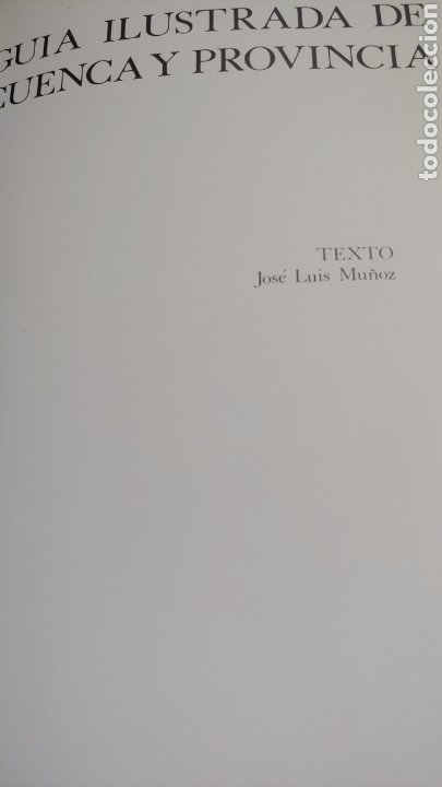 Libros de segunda mano: Guía ilustrada de Cuenca y provincia - Foto 3 - 218272773