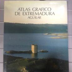 Libros de segunda mano: ATLAS GRÁFICO DE EXTREMADURA. AGUILAR. Lote 218485002