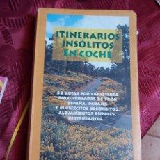 Libros de segunda mano: ITINERARIOS INSOLITOS EN COCHE. EDITORIAL ANAYA.. Lote 218564291