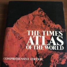 Libros de segunda mano: THE TIMES ATLAS OF THE WORLD. Lote 219741016