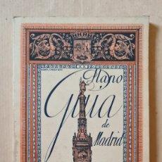 Libros de segunda mano: PLANO GUIA DE MADRID DE RAMON VICENTE MESONERO. AÑOS 40. Lote 219839428