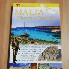 Libros de segunda mano: MALTA. HISTORIA Y TRADICIÓN (VINCENT ZAMMIT). Lote 220527236