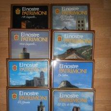Libros de segunda mano: EL NOSTRE PATRIMONI 8 TOMOS / COMPLETA - JORDI OLAVARRIETA - EN CATALAN GIRONES / EMPORDA / SELVA. Lote 220879650