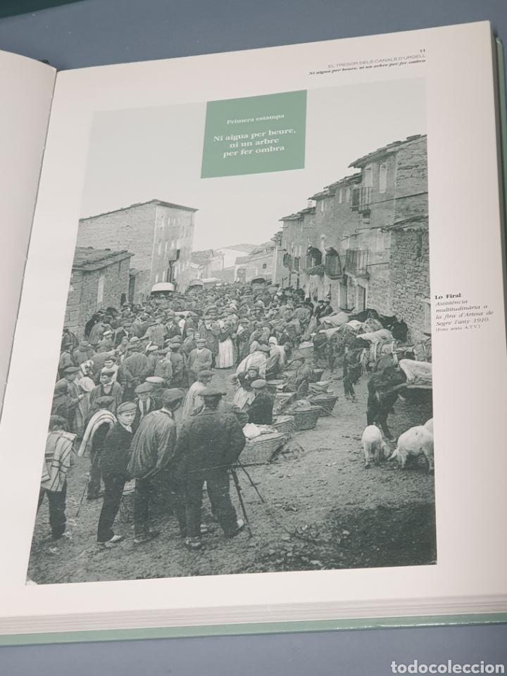 Libros de segunda mano: El Tresor del Canals D Urgell - Primera Edición 1996 - Foto 3 - 221265196