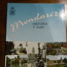 Libros de segunda mano: MONDARIZ , HISTORIA Y GUIA. Lote 221503796