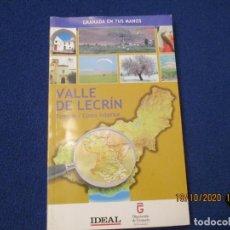 Libri di seconda mano: GRANADA EN TUS MANOS IDEAL Nº 7 VALLE DE LECRIN ED. CORPORACION DE MEDIOS DE ANDALUCIA. Lote 221685563