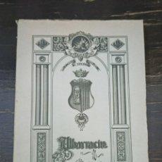 Libros de segunda mano: ALBARRACÍN. NOTICIAS HISTÓRICAS DE LA CIUDAD. POR C. VAZQUEZ Y E. CAVERO. AÑO 1945. Lote 221929528