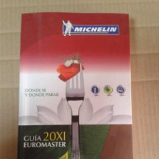 Livres d'occasion: GUIA 20XI EUROMASTER. MICHELIN. Lote 221958063