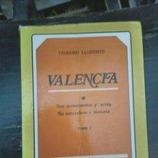 Libros de segunda mano: VALENCIA: SUS MONUMENTOS Y ARTES SU NATURALEZA E HISTORIA. LLORENTE, TEODORO. TOMO I. ALBATROS. 1980. Lote 222019473