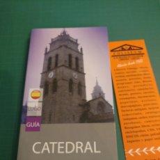 Libros de segunda mano: GUIA CATEDRAL DE LUGO . ADOLFO DE ABEL VILELA. Lote 222115011