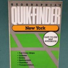 Libros de segunda mano: GEOGRAFÍAS QUICK FINDER NUEVA YORK. Lote 222675885