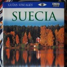 Libros de segunda mano: VV. AA. . SUECIA . GUÍAS VISUALES EL PAÍS - AGUILAR. Lote 222724881