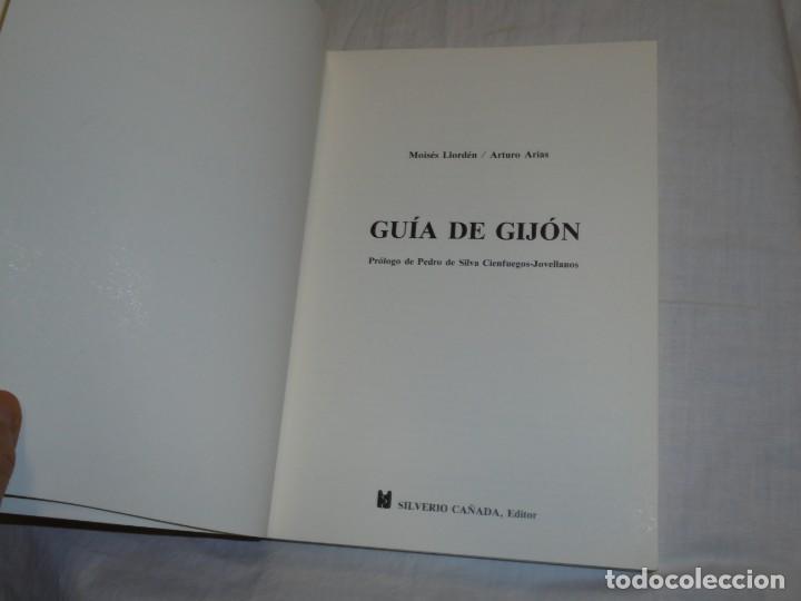 Libros de segunda mano: GUIA DE GIJON.MOISES LLORDEN/ARTURO ARIAS.PROLOGO DE PEDRO DE SILVA.SILVERIO CAÑADA 1989 - Foto 2 - 222814517