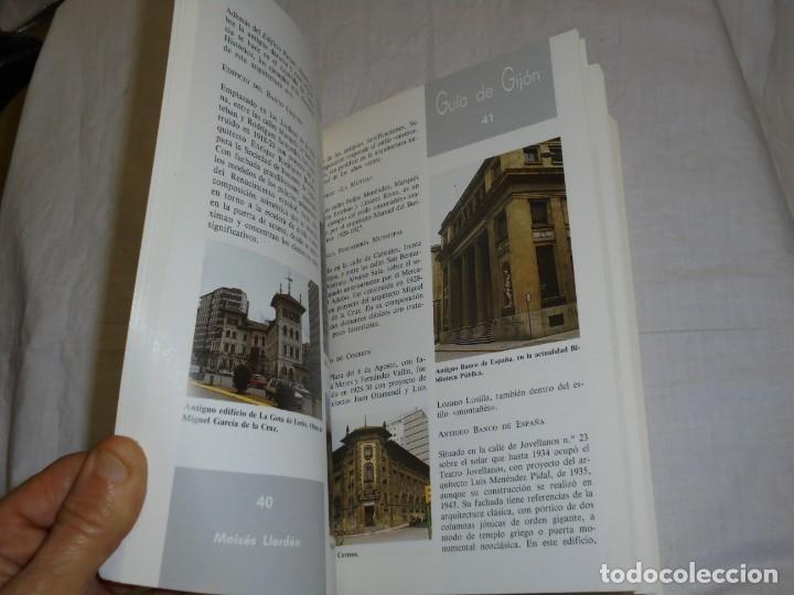 Libros de segunda mano: GUIA DE GIJON.MOISES LLORDEN/ARTURO ARIAS.PROLOGO DE PEDRO DE SILVA.SILVERIO CAÑADA 1989 - Foto 5 - 222814517